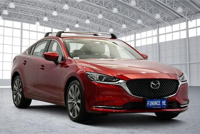 Used Mazda 6 GL1032 Atenza SKYACTIV-Drive Victoria Park, 2019 Mazda 6 GL1032 Atenza SKYACTIV-Drive Soul Red 6 Speed Sports Automatic Sedan