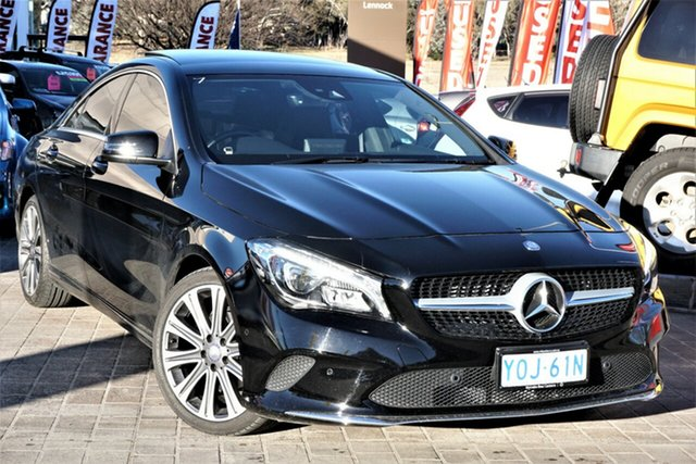 Used Mercedes-Benz CLA-Class C117 806MY CLA200 DCT Phillip, 2016 Mercedes-Benz CLA-Class C117 806MY CLA200 DCT Black 7 Speed Sports Automatic Dual Clutch Coupe