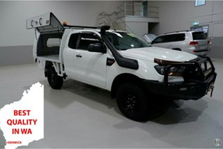 2016 Ford Ranger PX MkII XL White 6 Speed Manual Cab Chassis.