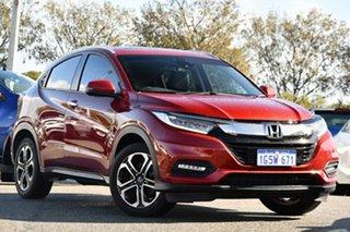 2019 Honda HR-V MY20 VTi-LX Red 1 Speed Constant Variable Hatchback.