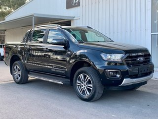 2019 Ford Ranger PX MkIII 2020.25MY Wildtrak Black 6 Speed Sports Automatic Double Cab Pick Up.