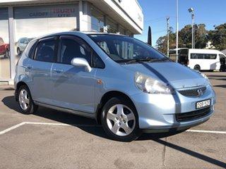 2005 Honda Jazz GD MY05 VTi Blue 7 Speed Constant Variable Hatchback.