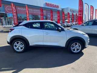 2021 Nissan Juke F16 ST DCT 2WD Ivory Pearl 7 Speed Sports Automatic Dual Clutch Hatchback.