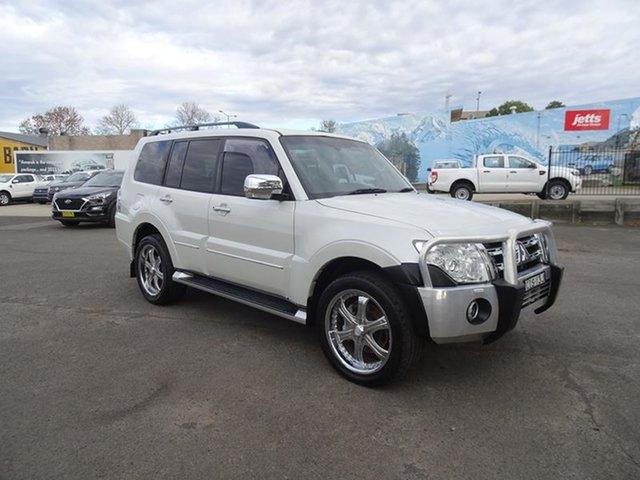 Used Mitsubishi Pajero NW MY12 Platinum Nowra, 2012 Mitsubishi Pajero NW MY12 Platinum White 5 Speed Automatic Wagon