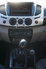 2011 Mitsubishi Triton MN MY12 GLX-R Double Cab Grey 5 Speed Manual Utility