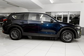 2021 Mazda CX-8 KG2WLA Touring SKYACTIV-Drive FWD Blue 6 Speed Sports Automatic Wagon