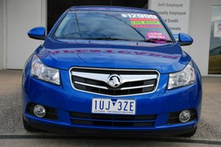 2010 Holden Cruze JG CDX Blue 6 Speed Automatic Sedan.