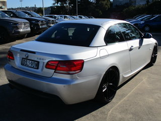 2008 BMW 3 Series E93 MY08 325i Steptronic Silver 6 Speed Sports Automatic Convertible