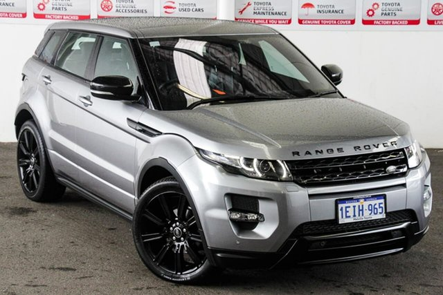 Pre-Owned Land Rover Range Rover Evoque LV MY13 SI4 Dynamic Myaree, 2013 Land Rover Range Rover Evoque LV MY13 SI4 Dynamic Grey 6 Speed Automatic Wagon