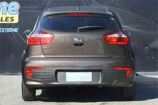 2015 Kia Rio UB MY15 S Brown 4 Speed Sports Automatic Hatchback