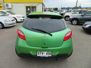2008 Mazda 2 DE Neo Green 5 Speed Manual Hatchback