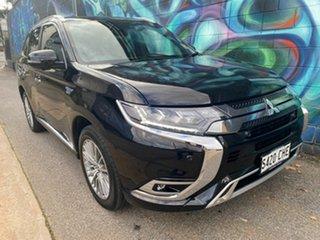 2021 Mitsubishi Outlander ZL MY21 PHEV AWD Exceed Ruby Black 1 Speed Automatic Wagon Hybrid.