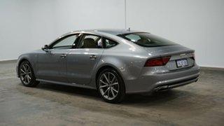 2015 Audi A7 4G MY15 S Line Sportback S Tronic Quattro Grey 7 Speed Sports Automatic Dual Clutch.