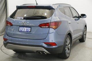 2017 Hyundai Santa Fe DM Series II (DM3) 30 Special Edition Blue 6 Speed Automatic Wagon.