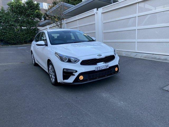 Used Kia Cerato BD MY19 S Zetland, 2019 Kia Cerato BD MY19 S White 6 Speed Sports Automatic Hatchback