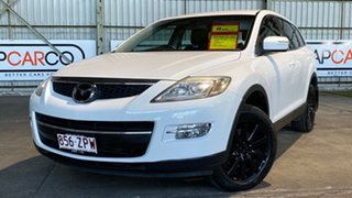 2008 Mazda CX-9 TB10A1 Classic White 6 Speed Sports Automatic Wagon.