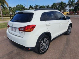 2015 Mitsubishi ASX XB MY15 LS White 6 Speed Sports Automatic Wagon.