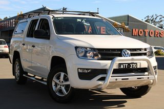 2017 Volkswagen Amarok 2H MY17 TDI420 (4x2) White 8 Speed Automatic Dual Cab Chassis.