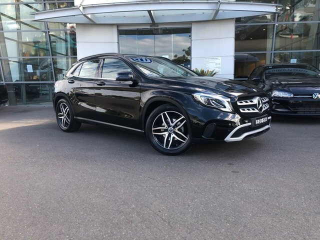 Used Mercedes-Benz GLA-Class X156 809+059MY GLA180 DCT Sutherland, 2019 Mercedes-Benz GLA-Class X156 809+059MY GLA180 DCT Black 7 Speed Sports Automatic Dual Clutch