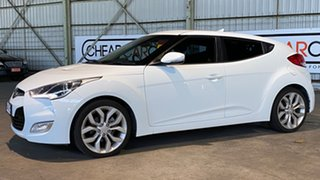 2012 Hyundai Veloster FS + Coupe D-CT 6 Speed Sports Automatic Dual Clutch Hatchback.