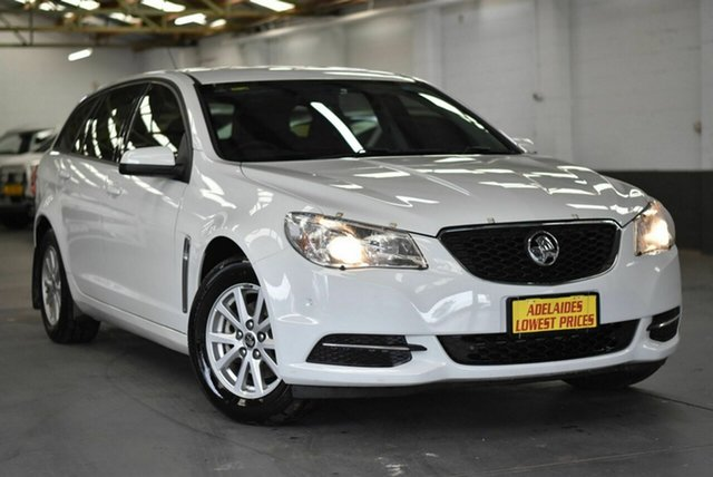 Used Holden Commodore VF II MY17 Evoke Sportwagon Strathalbyn, 2017 Holden Commodore VF II MY17 Evoke Sportwagon White 6 Speed Sports Automatic Wagon