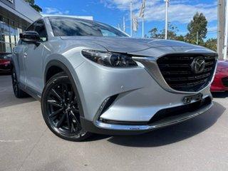 2021 Mazda CX-9 TC GT SP SKYACTIV-Drive Silver 6 Speed Sports Automatic Wagon.