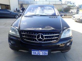 2008 Mercedes-Benz ML350 W164 08 Upgrade 4x4 Black Metallic 7 Speed Automatic G-Tronic Wagon.