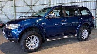 2010 Mitsubishi Challenger PB (KH) MY10 LS Blue 5 Speed Sports Automatic Wagon.