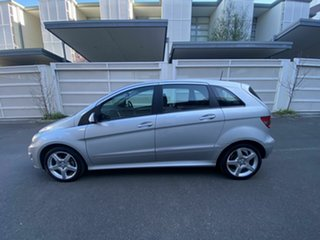 2011 Mercedes-Benz B-Class W245 MY11 B180 CDI Silver 7 Speed Constant Variable Hatchback
