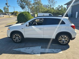 2018 Mitsubishi ASX XC MY18 XLS 2WD White 1 Speed Constant Variable Wagon