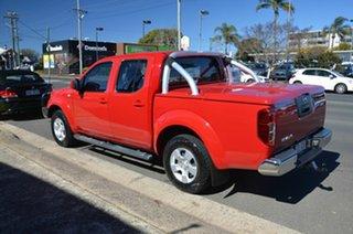 2010 Nissan Navara D40 ST (4x4) Red 5 Speed Automatic Dual Cab Pick-up