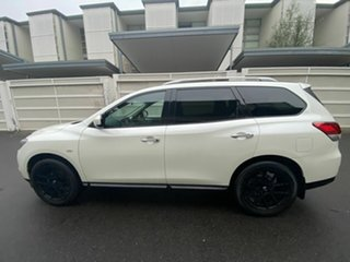 2016 Nissan Pathfinder R52 MY15 ST X-tronic 2WD White 1 Speed Constant Variable Wagon