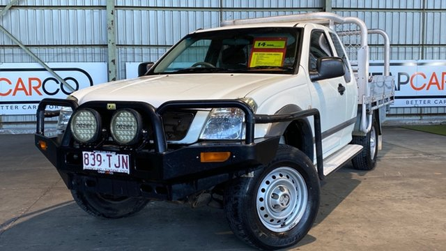 Used Holden Rodeo RA LT Space Cab Rocklea, 2003 Holden Rodeo RA LT Space Cab White 5 Speed Manual Utility