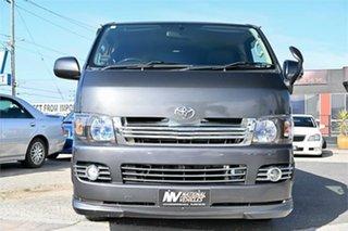 2008 Toyota HiAce KDH201V Super GL Grey 4 Speed Automatic Van.
