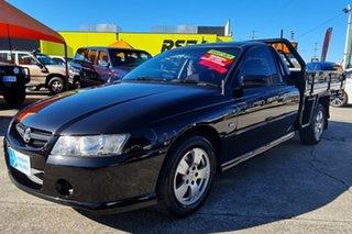 2005 Holden Ute VZ S Black 6 Speed Manual Utility.