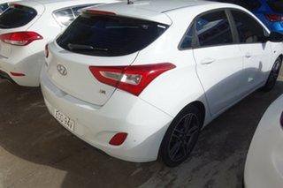 2016 Hyundai i30 GD5 Series II MY17 SR White 6 Speed Sports Automatic Hatchback