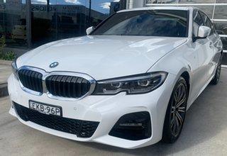 2020 BMW 3 Series G20 320i Steptronic M Sport Alpine White 8 Speed Sports Automatic Sedan.