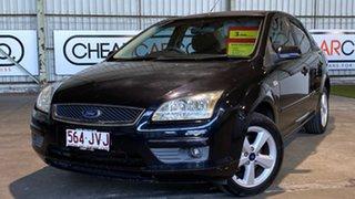 2005 Ford Focus LR MY2003 LX Black 4 Speed Automatic Sedan.