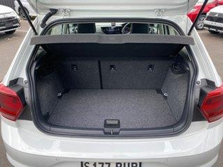 2018 Volkswagen Polo AW MY18 70TSI DSG Trendline White 7 Speed Sports Automatic Dual Clutch