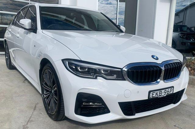 Used BMW 3 Series G20 320i Steptronic M Sport Newcastle West, 2020 BMW 3 Series G20 320i Steptronic M Sport Alpine White 8 Speed Sports Automatic Sedan