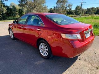 2010 Toyota Camry AHV40R Hybrid Red Constant Variable Sedan.
