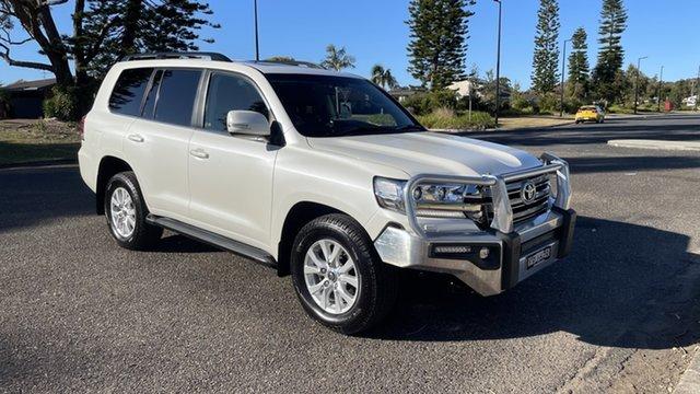 Used Toyota Landcruiser VDJ200R VX Port Macquarie, 2017 Toyota Landcruiser VDJ200R VX White 6 Speed Sports Automatic Wagon