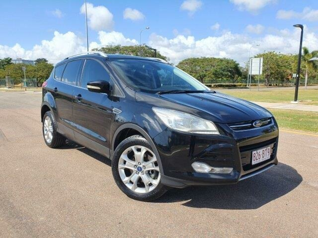 Used Ford Kuga TF Trend AWD Townsville, 2013 Ford Kuga TF Trend AWD Panther Black 6 Speed Sports Automatic Wagon
