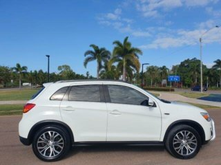 2015 Mitsubishi ASX XB MY15 LS White 6 Speed Sports Automatic Wagon
