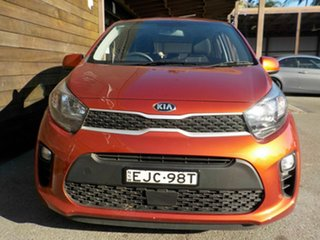 2020 Kia Picanto JA MY21 S Orange 4 Speed Automatic Hatchback.
