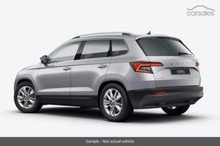 2021 Skoda Karoq NU MY21 110TSI FWD Brilliant Silver 8 Speed Automatic Wagon.