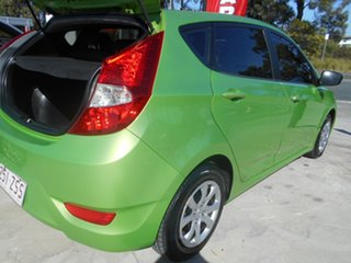 2014 Hyundai Accent RB2 MY15 Active Green 4 Speed Sports Automatic Hatchback