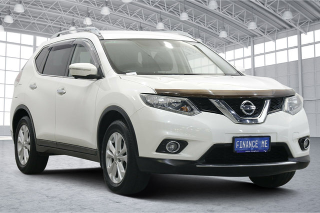 Used Nissan X-Trail T32 ST-L X-tronic 4WD Victoria Park, 2014 Nissan X-Trail T32 ST-L X-tronic 4WD White 7 Speed Constant Variable Wagon