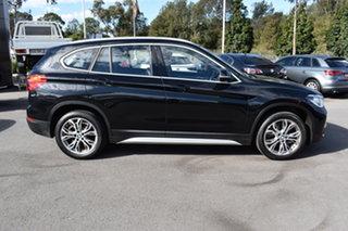 2018 BMW X1 F48 sDrive18d Steptronic Black 8 Speed Sports Automatic Wagon.