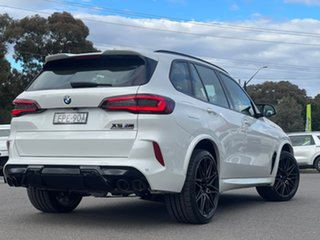 2021 BMW X5 M Competition Mineral White Sports Automatic Wagon.
